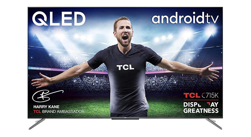 TLC 50 Inch QLED Television, 4K Ultra HD HDR 10+ Dolby Vision