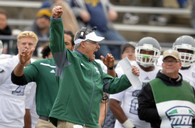 In 2016, Chris Creighton led Eastern Michigan to its first bowl game in 29 seasons. (AP)