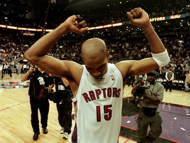 Vince Carter, during the second season. (Getty Images)