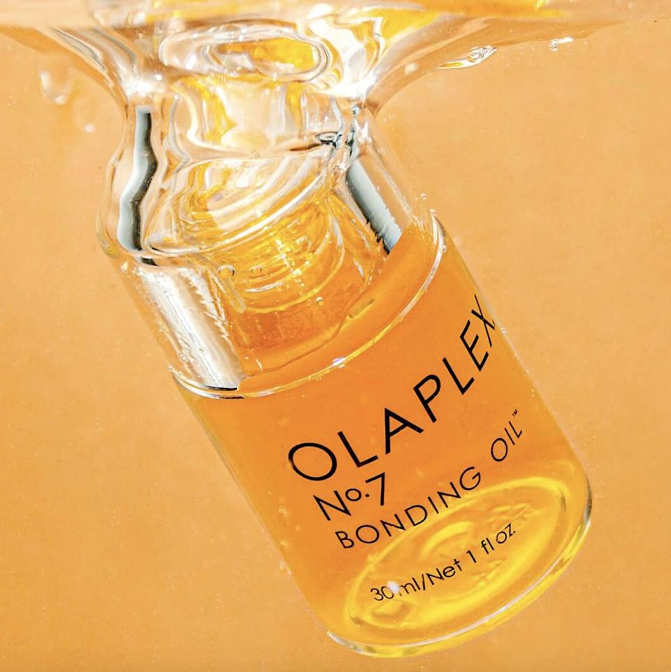 """<p>""""I can always tell when we're shifting from summer to fall months based on my hair. Right around the middle of September, I feel my ends getting particularly dry and notice way more flyaways. Thanks to this <span>Olaplex No. 7 Bonding Oil</span> ($28), though, I've been able to maintain the texture of my hair. I put a little bit on before I apply any heat to my hair and then a little extra just to my ends afterward, and the results are incredible."""" - Kelsey Kennick, senior manager, Commerce</p>"""