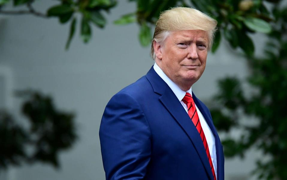 In the 72 hours after the impeachment inquiry was announced, Donald Trump's campaign took in $15 million in donations - REUTERS