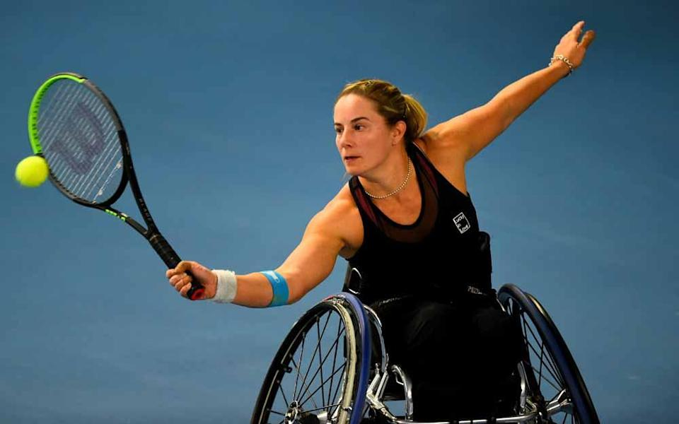 Lucy is now preparing for the Paralympics in Tokyo (Collect/PA Real Life).