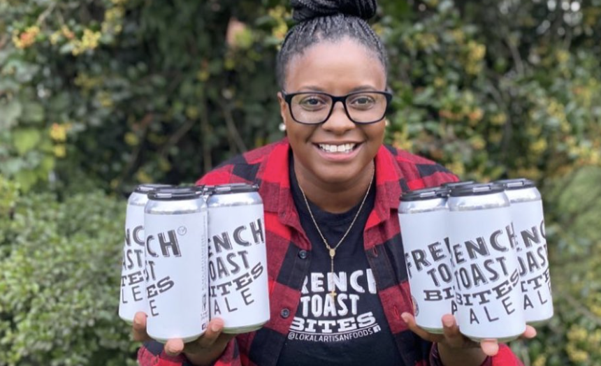 Charisse McGill is the founder and owner of Philadelphia's Lokal Artisan Foods and the first Black woman to create her own signature beer in Pennsylvania. (Photo: Facebook)