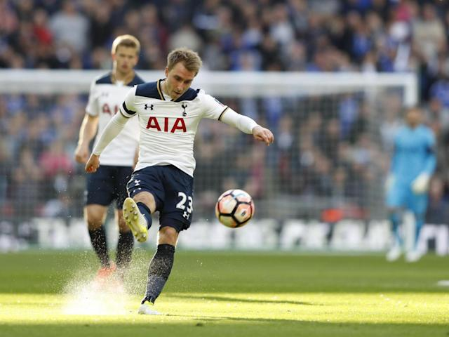 Eriksen's assist for Alli's goal was world class (Getty)