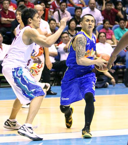 Jimmy Alapag, point guard, Talk 'N Text Tropang Texters. (PBA Images)