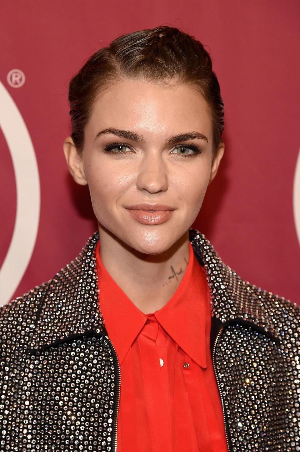 <p>Actress Ruby Rose has become known for her cool short crop. How we wish we could pull it off like she does. [Photo: Getty] </p>
