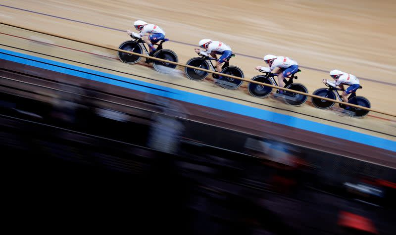 Cycling: Kenny suffers big crash in omnium at worlds