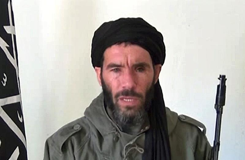 Al-Murabitoun says Algerian militant Mokhtar Belmokhtar remains its leader, despite reports that he was killed in a US air strike in Libya in June (AFP Photo/Ho)