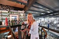 """Margit Tofalvi, spokeswoman of the Csiki Sor craft beer brewery, says """"we are helping 260 people and their families make a living"""""""