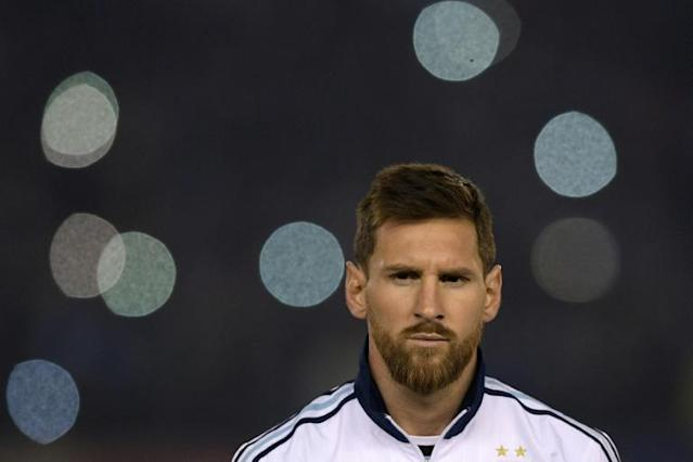 Lionel Messi's Argentina coach has suggested the star 'can carry the team on his shoulders' at the World Cup