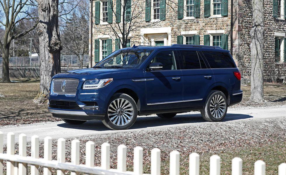 """<p>The industry's trend of replacing big, fuel-thirsty engines with smaller turbocharged ones making similar (and sometimes greater) power has reached even Detroit. Consider <a rel=""""nofollow"""" href=""""https://www.caranddriver.com/lincoln/navigator-navigator-l"""">the Lincoln Navigator</a>, the Ford Motor Company's luxurious, gigantic rival to the Cadillac Escalade: It ditched its V-8 engine a few years ago in favor of a twin-turbocharged 3.5-liter V-6. The current model's similar engine is borrowed from the F-150 Raptor and kicks out 450 horsepower and 510 lb-ft of torque, outgunning the big Caddy. With all-wheel drive and a ten-speed auto fitted as standard, it'll sprint to 60 in 5.4 seconds (5.5 for the stretched Navigator L). Keep in mind that it weighs over three tons.</p>"""