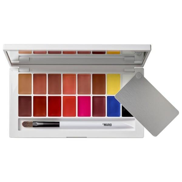 <p>This new <span>Makeup by Mario Master Mattes Pro Lip Palette</span> ($60) not only offers several traditional colors for your mouth, there are also five primary shades to add dimension to (or change the color of) any other lipstick you choose.</p>