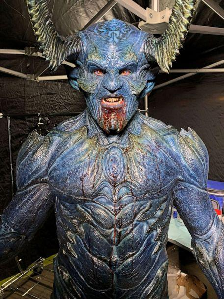 PHOTO: Ian Ziering appears in costume for 'Swamp Thing,' premiering on the CW on Tuesday, October 6. (Ian Ziering)
