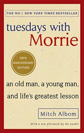 "<p>A heartfelt depiction of the relationship between Mitch Albom and his college professor Morrie Schwartz. The novel is a magical chronicle of their time together in the last few months of Morrie's life, and captures the wisdom that he shares with his friend.</p><p><a class=""link rapid-noclick-resp"" href=""https://www.amazon.co.uk/Tuesdays-Morrie-young-greatest-lesson-ebook/dp/B002TXZRNQ/ref=sr_1_1?ie=UTF8&qid=1533821557&sr=8-1&keywords=Tuesdays+with+Morrie+by+Mitch+Albom&tag=hearstuk-yahoo-21&ascsubtag=%5Bartid%7C1919.g.22685589%5Bsrc%7Cyahoo-uk"" rel=""nofollow noopener"" target=""_blank"" data-ylk=""slk:BUY NOW"">BUY NOW</a> £5.99, Amazon</p><p><strong>For further support with mental health, <a href=""https://urldefense.proofpoint.com/v2/url?u=https-3A__readingagency.org.uk_&d=DwMGaQ&c=B73tqXN8Ec0ocRmZHMCntw&r=i9Cwto95XKUf7DVX18LFheTXN7rxCaOM7nPS4-2l3ZM&m=l5OvpeZYnHPK3Zauwb2q-bLCs4OR51tRfA_NFGuOuZY&s=_xK5objUnDevqqDKyGrujlCM6JCyqjAccIzHPp7-GSc&e="" rel=""nofollow noopener"" target=""_blank"" data-ylk=""slk:The Reading Agency's"" class=""link rapid-noclick-resp"">The Reading Agency's</a> wellbeing programme <a href=""https://urldefense.proofpoint.com/v2/url?u=https-3A__api.readingagency.org.uk_oauth_authorize-3Fclient-5Fid-3D9052b2bd61e00bc6e340ecb3ada89471e747886870fa63d5db37e5144621f88b-26redirect-5Furi-3Dhttps-253A-252F-252Freading-2Dwell.org.uk-252Fauth-252Fcallback-26response-5Ftype-3Dcode&d=DwMGaQ&c=B73tqXN8Ec0ocRmZHMCntw&r=i9Cwto95XKUf7DVX18LFheTXN7rxCaOM7nPS4-2l3ZM&m=l5OvpeZYnHPK3Zauwb2q-bLCs4OR51tRfA_NFGuOuZY&s=FobOO_P3tNAYX_qAT26blWLBbnUHrbDVyeN4pIj73bc&e="" rel=""nofollow noopener"" target=""_blank"" data-ylk=""slk:Reading Well"" class=""link rapid-noclick-resp"">Reading Well</a> provides quality-assured information and advice, recommended by health experts and people living with mental health needs.</strong><br></p>"