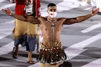 <p>We love the Olympics for so many reasons. As spectators, we wait patiently to see grand feats of athleticism, tales of perseverance and, of course, the shirtless Tongan flag bearer. </p>