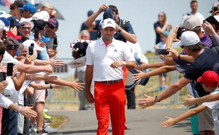 FILE PHOTO: Golf - French Open - Le Golf National, Guyancourt, France - July 1, 2018 Spain's Sergio Garcia during the final round REUTERS/Charles Platiau