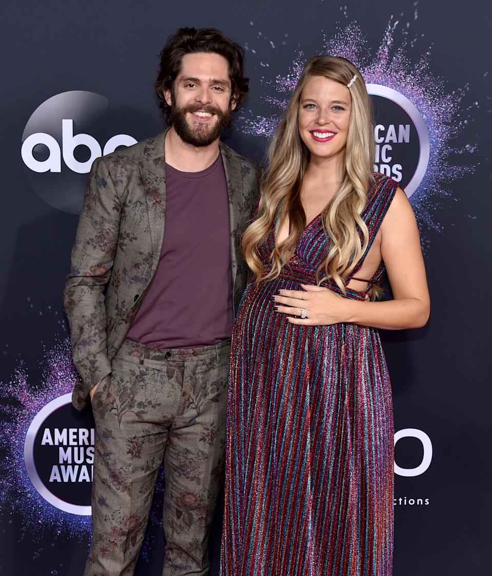 """<h1 class=""""title"""">Thomas Rhett in Etro and Lauren Akins</h1><cite class=""""credit"""">Photo: Getty Images</cite>"""