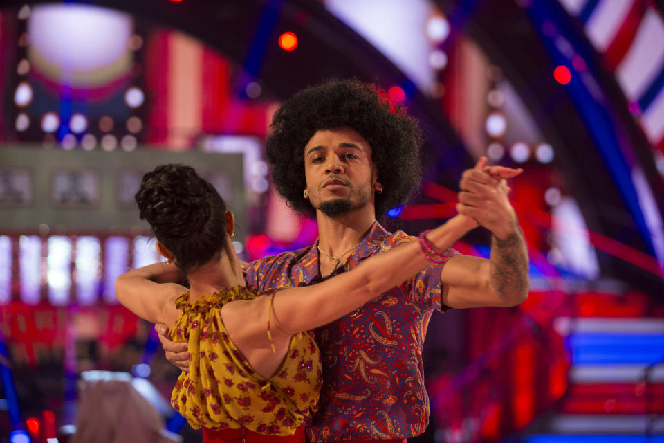Aston Merrygold was eliminated from Strictly Come Dancing over the weekend.