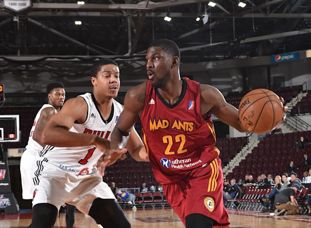 Alex Poythress averaged 18.5 points and 7.1 rebounds for the Fort Wayne Mad Ants this season. (Getty)