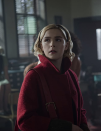"""<p>Whether you grew up on <em>Sabrina the Teenage Witch</em> or enjoy the new series <em>Chilling Adventures of Sabrina</em>, there's no doubt that dressing up as Sabrina Spellman will be a winning costume. Your teen might want to go as the latest iteration of the character, who is easily recognizable with a red coat and black headband.</p><p><a class=""""link rapid-noclick-resp"""" href=""""https://www.amazon.com/chouyatou-Womens-Essential-Breasted-Mid-Long/dp/B07KVY1H7J/?tag=syn-yahoo-20&ascsubtag=%5Bartid%7C2164.g.37050429%5Bsrc%7Cyahoo-us"""" rel=""""nofollow noopener"""" target=""""_blank"""" data-ylk=""""slk:SHOP RED COATS"""">SHOP RED COATS</a></p><p><a class=""""link rapid-noclick-resp"""" href=""""https://www.amazon.com/Black-Inch-Satin-Hard-Headband/dp/B0154B5P3G/?tag=syn-yahoo-20&ascsubtag=%5Bartid%7C2164.g.37050429%5Bsrc%7Cyahoo-us"""" rel=""""nofollow noopener"""" target=""""_blank"""" data-ylk=""""slk:SHOP BLACK HEADBANDS"""">SHOP BLACK HEADBANDS</a></p><p><a class=""""link rapid-noclick-resp"""" href=""""https://www.amazon.com/Chilling-Adventures-Sabrina-Curly-Blonde/dp/B07MSB27D6/?tag=syn-yahoo-20&ascsubtag=%5Bartid%7C2164.g.37050429%5Bsrc%7Cyahoo-us"""" rel=""""nofollow noopener"""" target=""""_blank"""" data-ylk=""""slk:SHOP BLONDE WIGS"""">SHOP BLONDE WIGS</a></p>"""
