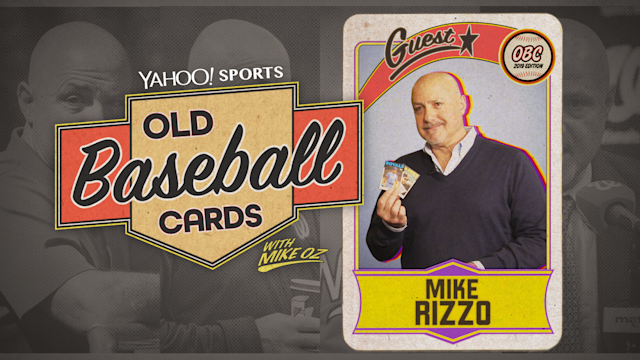 "Washington Nationals president and GM Mike Rizzo talks about George Brett, Mike Schmidt and Gary Sheffield on this week's installment of ""Old Baseball Cards."""