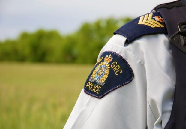 A 58-year-old man is dead and a 32-year-old woman is seriously hurt after a crash on Highway 16, east of Insinger, Sask., last Friday. (Submitted by RCMP - image credit)
