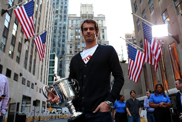 <p>Major breakthrough: Murray won his first major at the US Open in 2012. (Getty Images) </p>