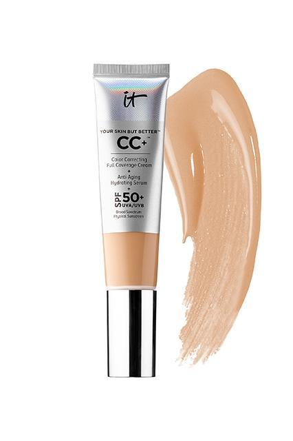 """<h3><strong>IT Cosmetics</strong> Your Skin But Better CC+ Cream SPF 50+</h3> <br>This cream has been at the top of every best-seller list since its release. The UVA/UVB broad-spectrum SPF 50 is bomb, as is the medium-to-full color-correcting coverage and the hydrating antioxidants squeezed into every tube.<br><br><strong>It Cosmetics</strong> CC+ Cream with SPF 50+, $, available at <a href=""""https://go.skimresources.com/?id=30283X879131&url=https%3A%2F%2Fwww.sephora.com%2Fproduct%2Fyour-skin-but-better-cc-cream-spf-50-P411885%3FskuId%3D1868165%23pdp-reviews"""" rel=""""nofollow noopener"""" target=""""_blank"""" data-ylk=""""slk:Sephora"""" class=""""link rapid-noclick-resp"""">Sephora</a><br>"""