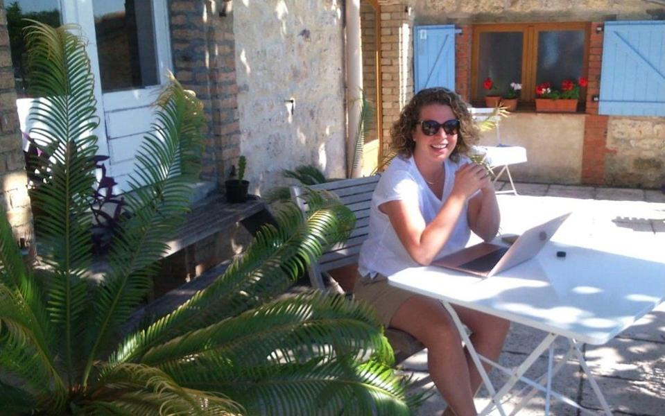 Jenny Southan working from France