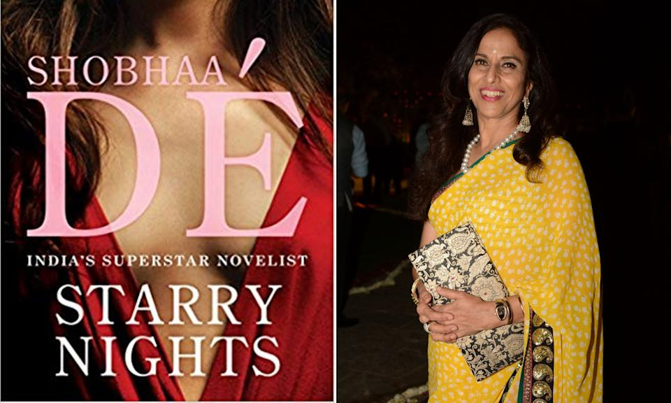 Shobhaa Dé's 19991 novel 'Starry Nights', after the onset of the #MeToo movement, reads like a novel about sexual harassment and exploitation in Bollywood. (Photo: HuffPost India )