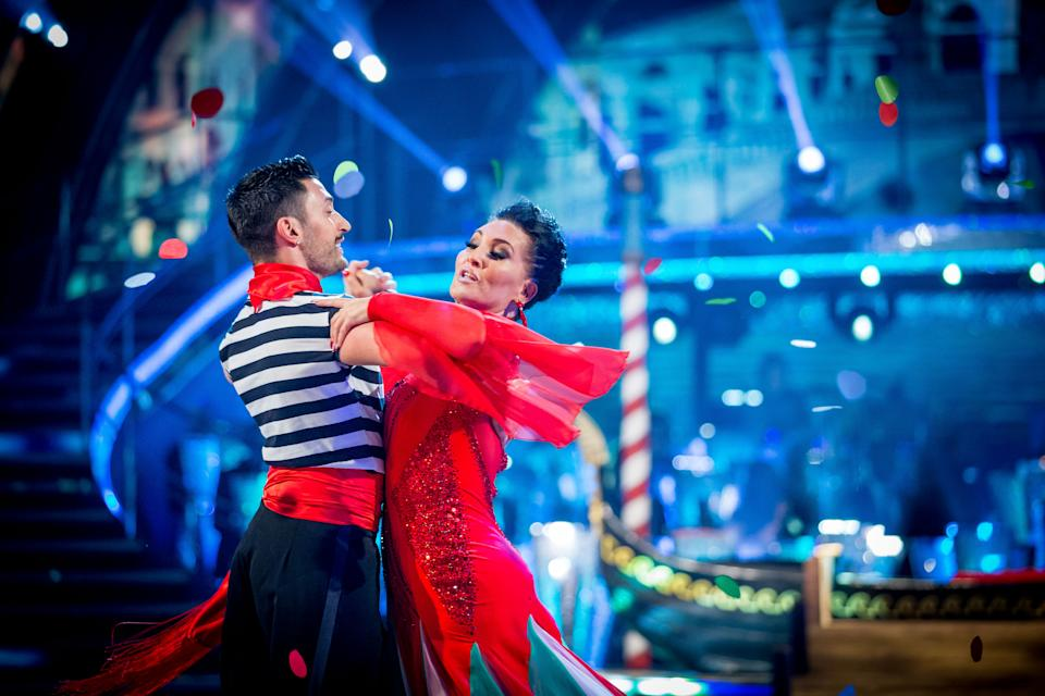 Michelle Visage is partnered with Giovanni Pernice on 'Strictly Come Dancing'. (BBC / Guy Levy)