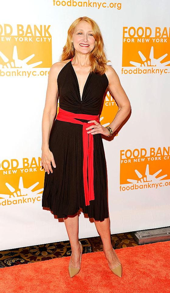 Actress Patricia Clarkson was also on hand for the festivities in NYC. How cute was she in her LBD? (4/17/2012)