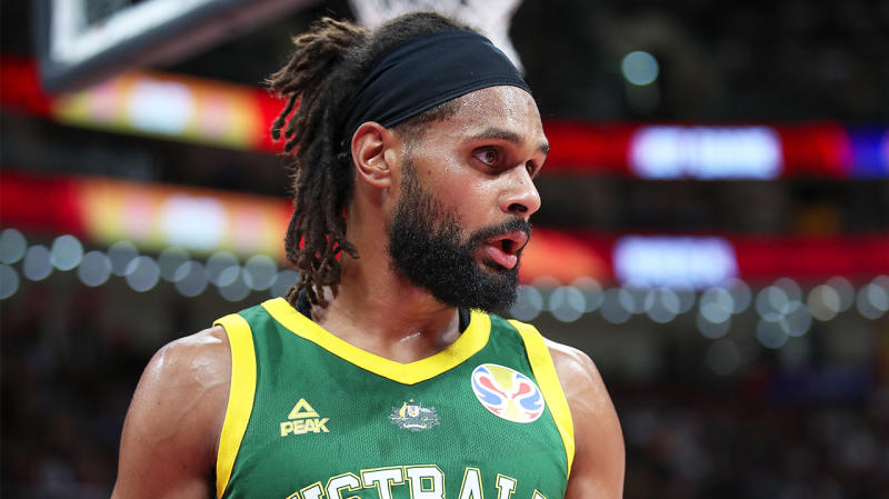 Patty Mills and the Boomers finished in fourth place. (Getty Images)