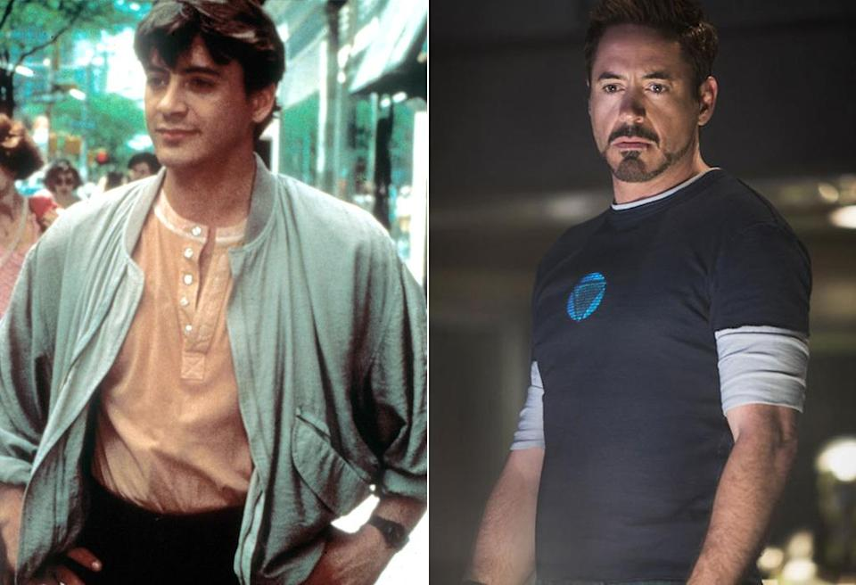 <p>Downey talks a good game as billionaire inventor Tony Stark, but he's an even slicker salesman in James Toback's portrait of a serial womanizer from 1987. <i>(Photo: REX/Marvel)</i></p>