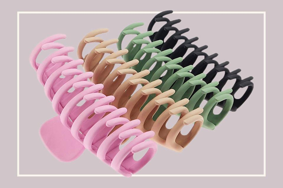 Amazon Shoppers Say These Claw Clips Are Unbeatable