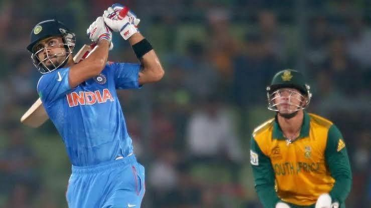 Kohli in action during the 2014 World T20 semifinal