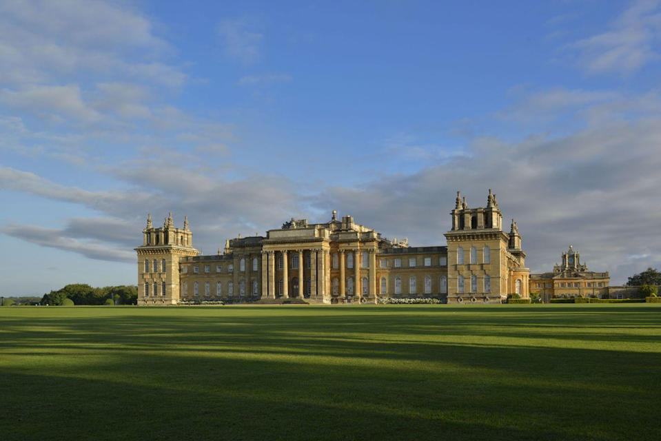 """<p>The birthplace of Winston Churchill, the seat of the Duke of Marlborough and a fine example of the fleeting style of English Baroque – the Vanbrugh-designed Blenheim Palace has a well-earned place in Britain's list of most-visited attractions. It's all on such a scale that words like 'great' are needed as prefixes to most areas: there's the Great Courtyard, the Grand Bridge, the Great Hall, the Long Library, etc. You'd need a serious budget to hire it as a wedding venue, but at least day trips are possible.</p><p><strong>Where to stay:</strong> <a href=""""https://www.feathers.co.uk/"""" rel=""""nofollow noopener"""" target=""""_blank"""" data-ylk=""""slk:The Feathers"""" class=""""link rapid-noclick-resp"""">The Feathers</a> in Woodstock is handily placed to explore Blenheim Palace, then Oxford, the Cotswolds and finally Bicester Village.</p>"""