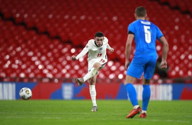 Phil Foden scores his second