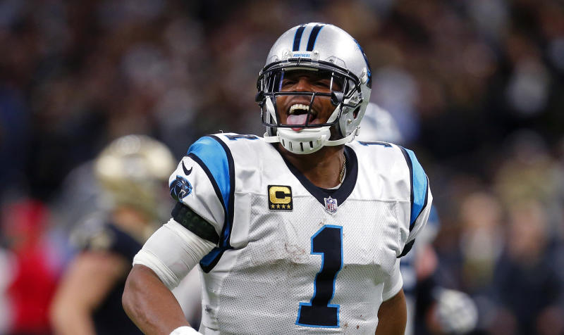 Carolina Panthers quarterback Cam Newton led his team to the playoffs. (AP)