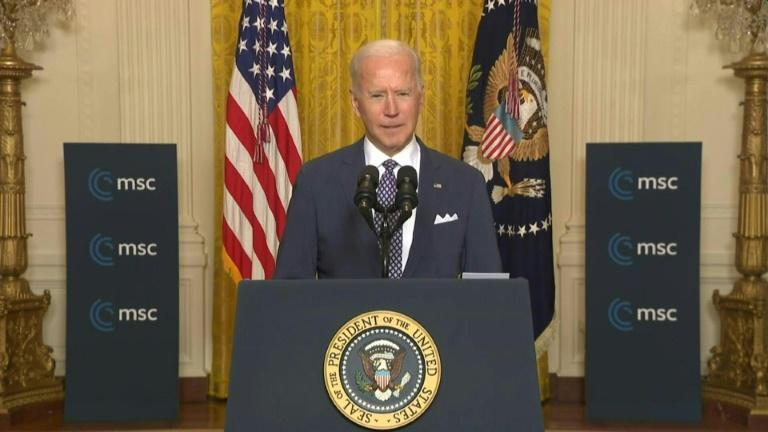 Biden says US determined to 'earn back' Europe's trust