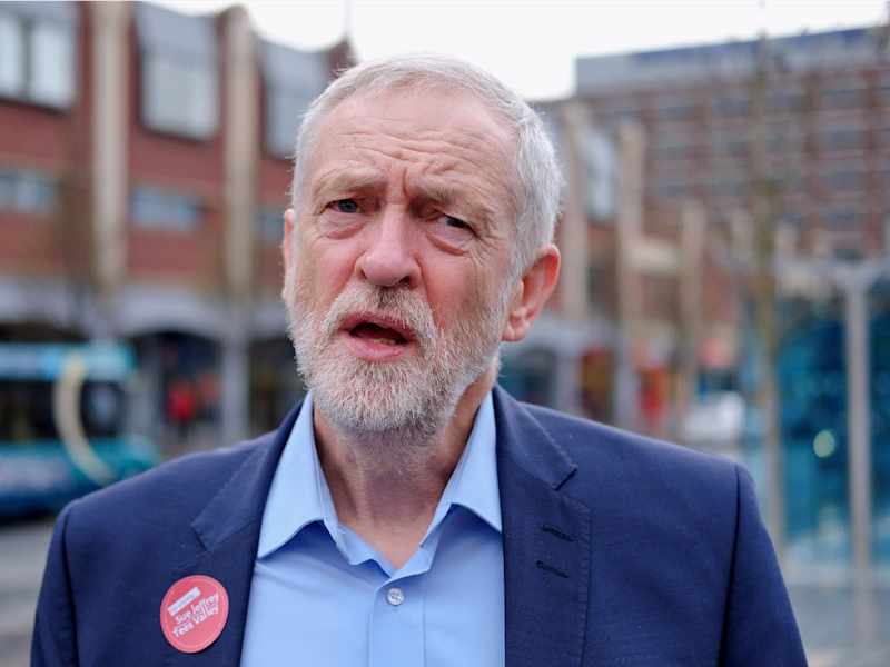 Under half of Labour voters back Jeremy Corbyn as leader, poll finds