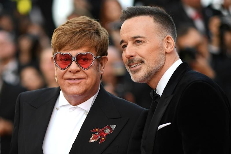 "The Elton John biopic ""Rocketman"", which was produced by his husband David Furnish, wowed critics at the Cannes film festival"