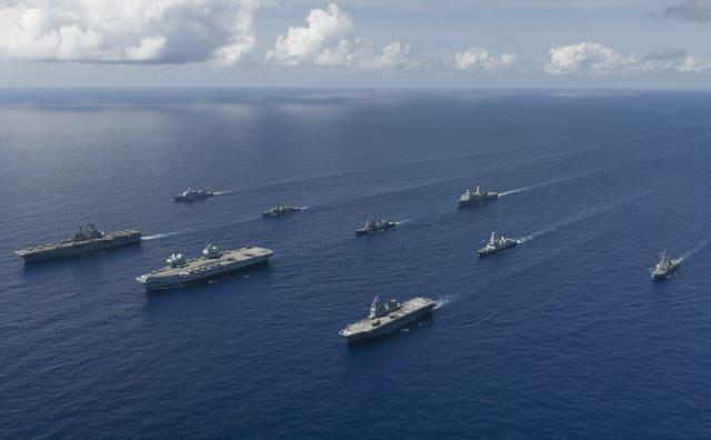 Joint exercises in the Pacific