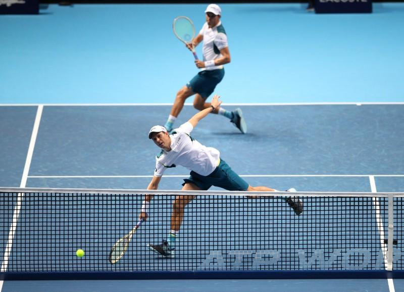 Bryan brothers not on U.S. Open entry list