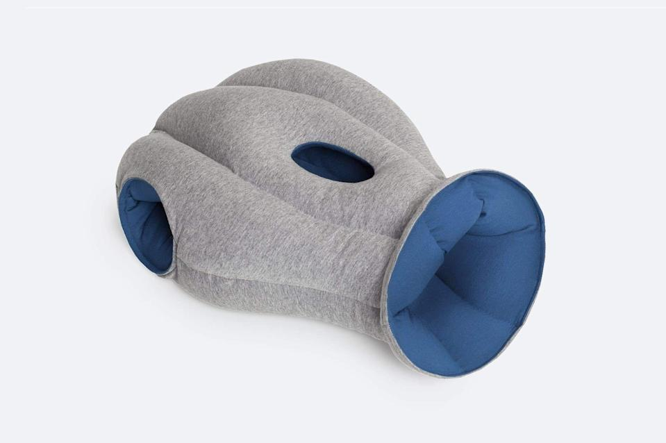 """<p>ostrichpillow.com</p><p><strong>$60.00</strong></p><p><a href=""""https://go.redirectingat.com?id=74968X1596630&url=https%3A%2F%2Fostrichpillow.com%2Fcollections%2Fall%2Fproducts%2Foriginal-napping-pillow&sref=https%3A%2F%2Fwww.countryliving.com%2Flife%2Fg4248%2Ffirst-mothers-day-gifts%2F"""" rel=""""nofollow noopener"""" target=""""_blank"""" data-ylk=""""slk:Shop Now"""" class=""""link rapid-noclick-resp"""">Shop Now</a></p><p>Unfortunately, it's very true how little sleep new moms run on. Give her the best chance of getting a few minutes of shut eye anywhere, with this pillow that makes napping easy. </p>"""