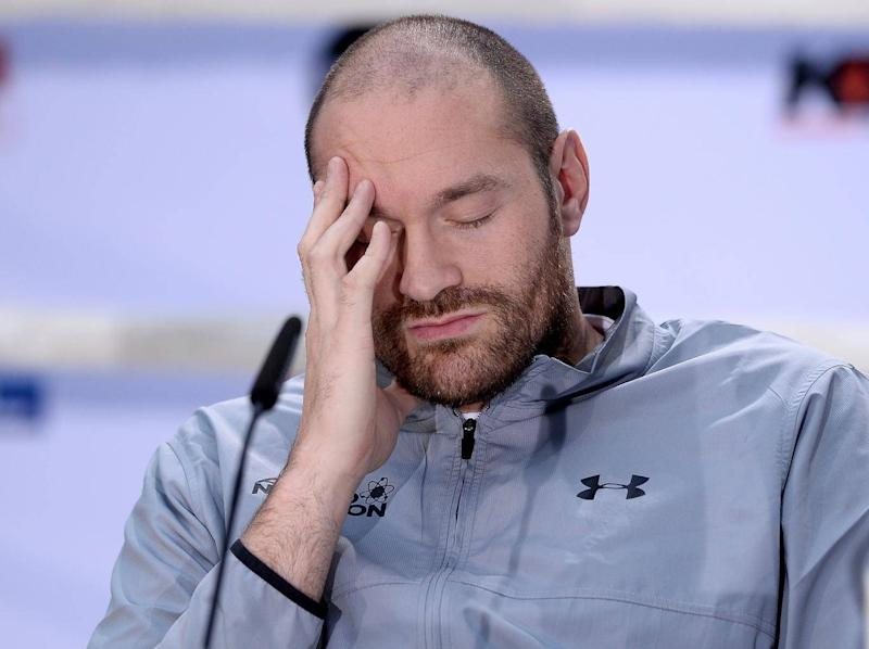 Tyson Fury at his lowest ebb (Bongarts/Getty)