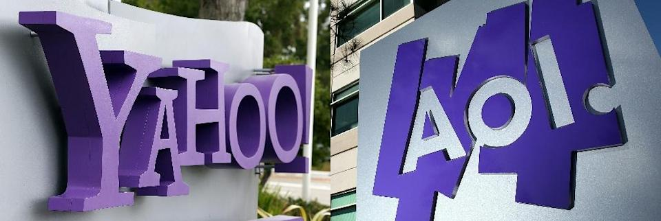 The Verizon unit that includes Yahoo and AOL -- briefly known as Oath -- is cutting hundreds of jobs in a restructuring move (AFP Photo/JUSTIN SULLIVAN)