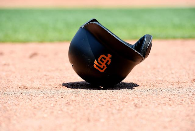 """The <a class=""""link rapid-noclick-resp"""" href=""""/mlb/teams/sfo"""" data-ylk=""""slk:San Francisco Giants"""">San Francisco Giants</a> had to address a political misstep from their principal owner on Friday. (Getty Images)"""