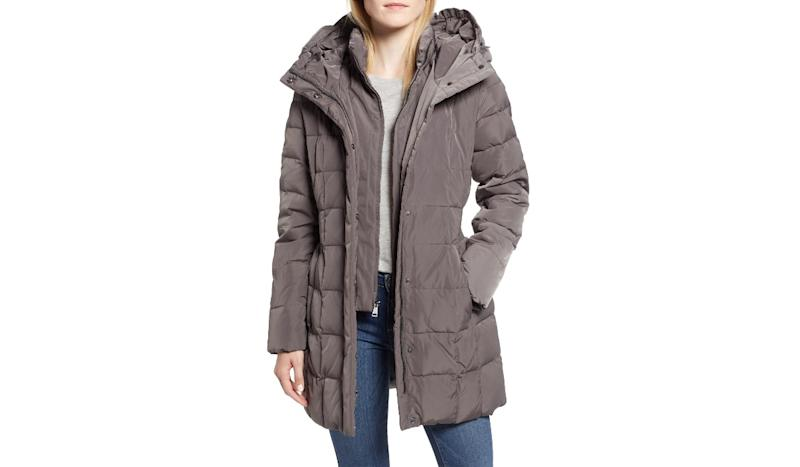 A (truly) warm coat that doesn't make you look like a snowman. (Photo: Nordstrom)