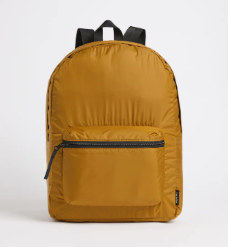 The Wheels-Up Packable Rucksack in Brown